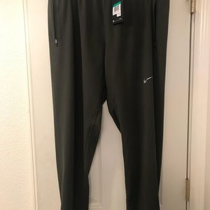 Nike jogger pants green in color